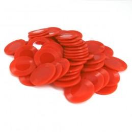 Dischetti: Set di 50 color Rosso