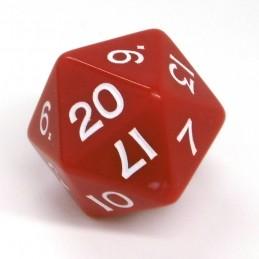 Jumbo - Opachi: Set di dadi da 24 mm (Rosso)
